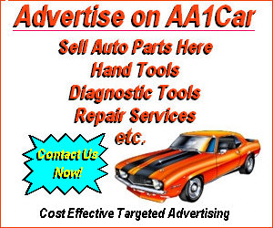 Advertise on AA1Car