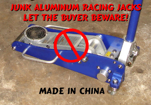 Aluminum Racing Jack Review