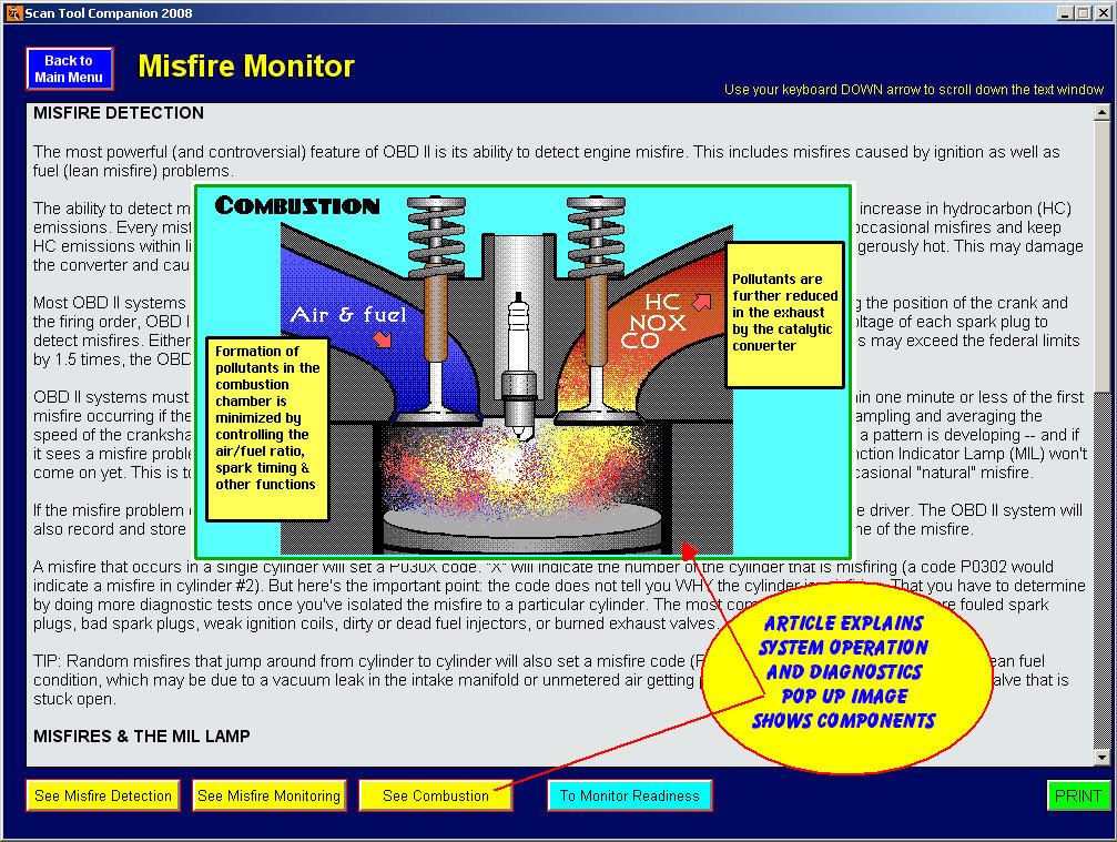 scan tool diagnostic training software