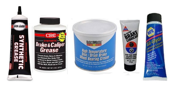 What is brake grease used for