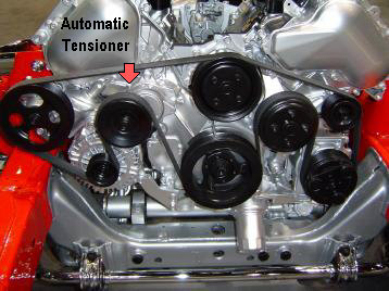 AUTOMATIC BELT TENSIONERS