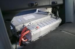Camry Hubrid High Voltage Battery In The Trunk