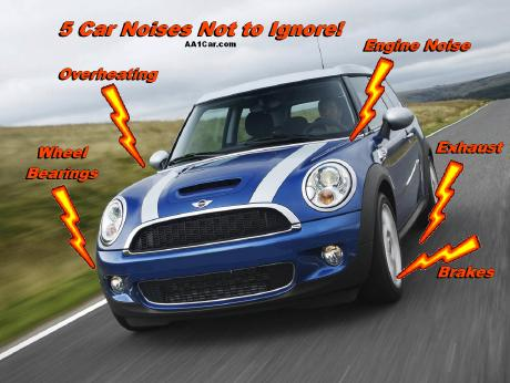5 Car Noises Not to Ignore