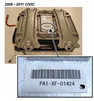 civic_hybrid_battery_2006 2011 honda civic hybrid battery failure Honda IMA Motor Voltage at crackthecode.co