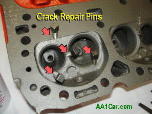 Repairing Cracks in Cast Iron Cylinder Heads and Engine Blocks