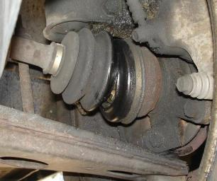 Broken Tie Rod End Symptoms http://www.aa1car.com/library/cvjoint2.htm