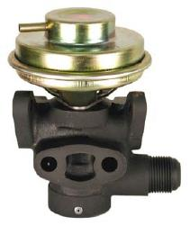 exhaust pressure control valve performance