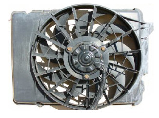 Troubleshoot Electric Cooling Fan on