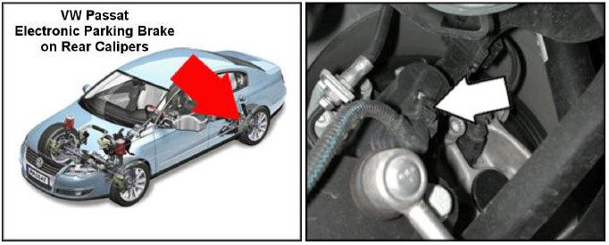 Passat Parking Brake Module Location