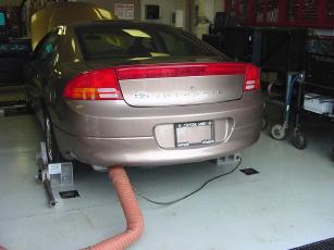 exhaust emissions testing
