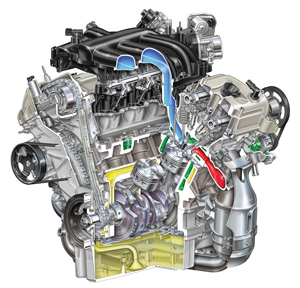 diagnose ford l v engine