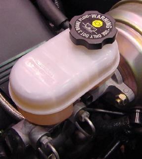 master cylinder brake fluid