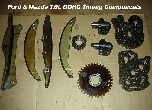 Ford & Mazda 3 0L V6 Timing Chain Replacement