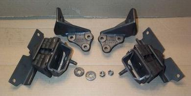how to fix a broken motor mount