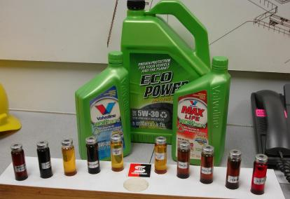 Re refined motor oil for Refining used motor oil