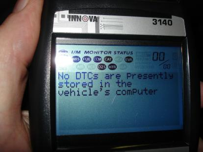 OBD Monitor Not Ready