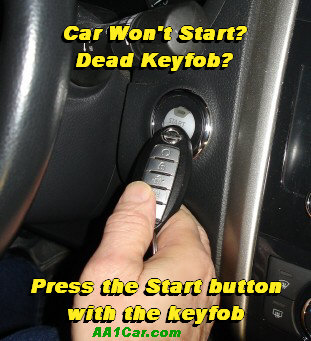 Key fob Won't Start Car