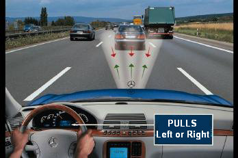 Correcting Steering Pull