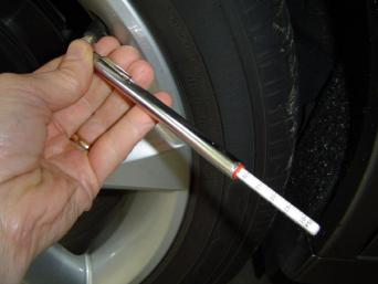 tire inflation tire gauge