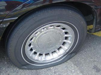 low tire