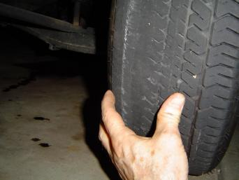 wheel misalignment tire wear